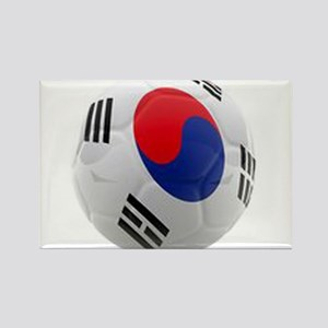 South Korea world cup soccer ball Rectangle Magnet