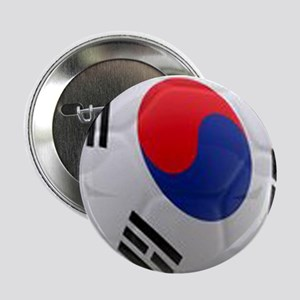 "South Korea world cup soccer ball 2.25"" Button"