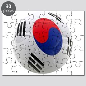 South Korea world cup soccer ball Puzzle