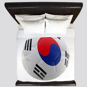 South Korea world cup soccer ball King Duvet