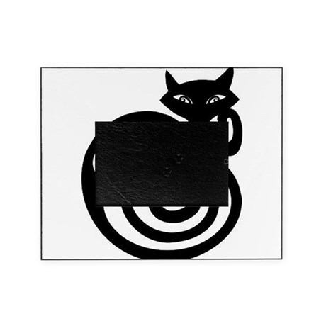 Black Cat Tattoo Design Picture Frame By Geekengine