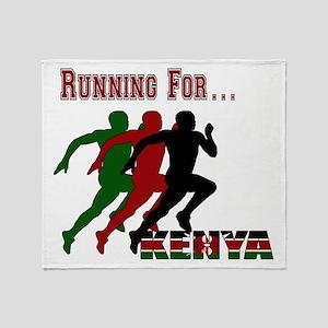 Kenya Running Throw Blanket