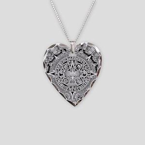 aztec-kopiya Necklace Heart Charm