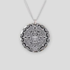 aztec-kopiya Necklace Circle Charm