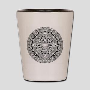 aztec-kopiya Shot Glass