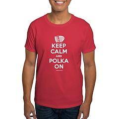 """Keep Calm And Polka On"" T-Shirt"