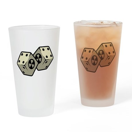 Dice Drinking Glass