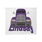 Trucker Lindsay Throw Blanket