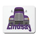 Trucker Lindsay Mousepad