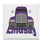 Trucker Lindsay Tile Coaster