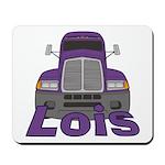 Trucker Lois Mousepad