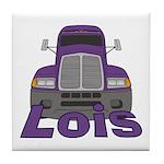 Trucker Lois Tile Coaster