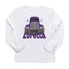 Trucker Loretta Long Sleeve Infant T-Shirt