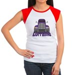 Trucker Lorraine Women's Cap Sleeve T-Shirt