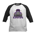 Trucker Louise Kids Baseball Jersey