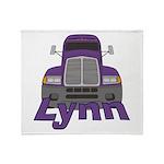 Trucker Lynn Throw Blanket