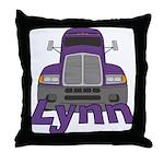 Trucker Lynn Throw Pillow
