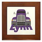 Trucker Lynn Framed Tile