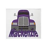 Trucker Mackenzie Throw Blanket