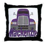 Trucker Mackenzie Throw Pillow