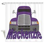 Trucker Mackenzie Shower Curtain