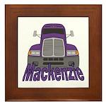 Trucker Mackenzie Framed Tile
