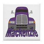 Trucker Mackenzie Tile Coaster