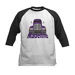 Trucker Madeline Kids Baseball Jersey