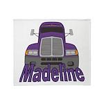 Trucker Madeline Throw Blanket