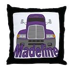 Trucker Madeline Throw Pillow