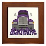 Trucker Madeline Framed Tile