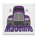 Trucker Madeline Tile Coaster