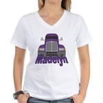 Trucker Madelyn Women's V-Neck T-Shirt