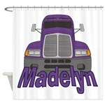 Trucker Madelyn Shower Curtain