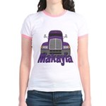Trucker Makayla Jr. Ringer T-Shirt