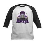 Trucker Makayla Kids Baseball Jersey