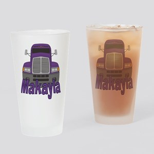 Trucker Makayla Drinking Glass