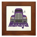 Trucker Makayla Framed Tile