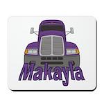 Trucker Makayla Mousepad