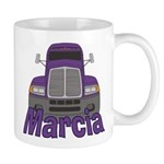 Trucker Marcia Mug