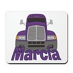 Trucker Marcia Mousepad
