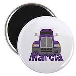 Trucker Marcia Magnet