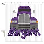 Trucker Margaret Shower Curtain