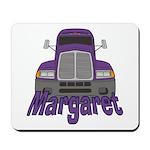 Trucker Margaret Mousepad