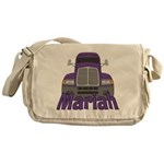 Trucker Mariah Messenger Bag