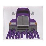 Trucker Mariah Throw Blanket