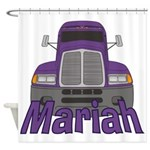 Trucker Mariah Shower Curtain