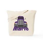 Trucker Marie Tote Bag