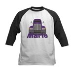 Trucker Marie Kids Baseball Jersey