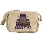 Trucker Marie Messenger Bag